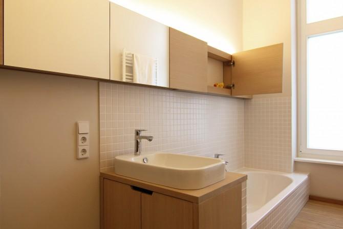 badezimmer altbau, innenarchitektur für badezimmer in berlin - neumann+kafert, Badezimmer