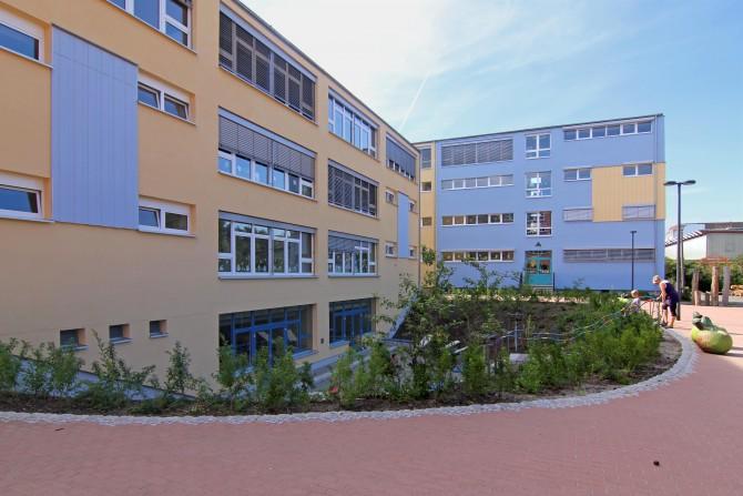 Energetische fassaden sanierung einer schule neumann for Innenarchitektur schule