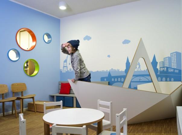 innenarchitektur für kinderarztpraxis in berlin - neumann+kafert, Innenarchitektur ideen